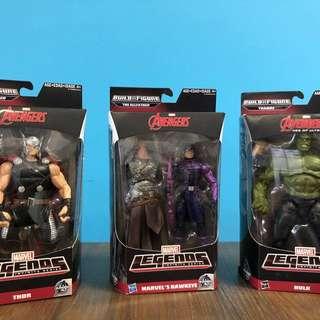The Avengers BuildAFigure Hasbro Super Rare!