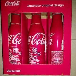 日本 熊本版 限量特定版鋁樽可樂