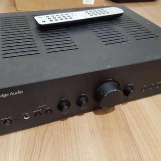 Cambridge Audio amplifier (spoiled)