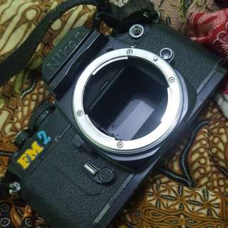 Nikon FM2. analog kamera