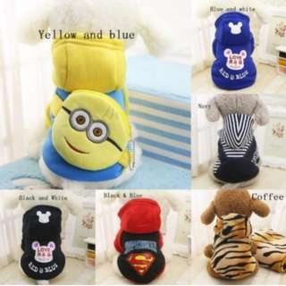 Pet clothes with backpack!!