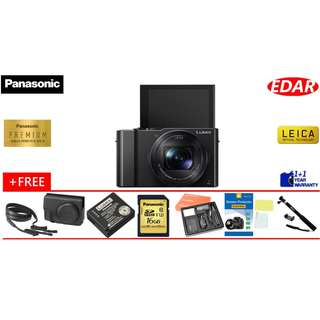 PANASONIC LUMIX LX10 BUY 1 FREE 6 !!! (ORIGINAL SET & OFFICIAL PANASONIC)
