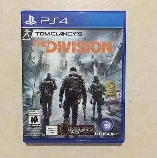PS4 Game: The Division