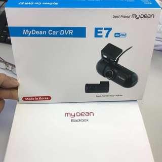 My Dean E7 前後車cam (包安裝)