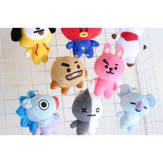 BTS BT21 Keyrings (Non-Official)