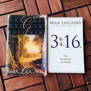Max Lucado Book Collection Set Of 2