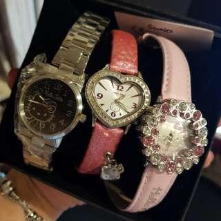 hello kitty 三麗鷗正版(有雷射商標) 手錶