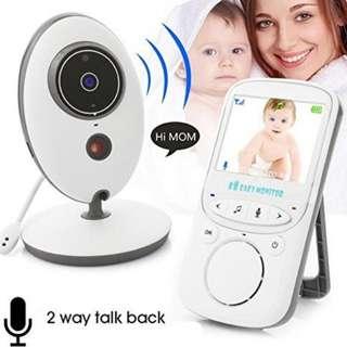 VB605 Wireless Baby Monitor - Digital Video Camera Audio Night Vision Temperature Display - Baby Shower Gift