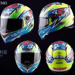 Flower Power '20' Full Face Helmet