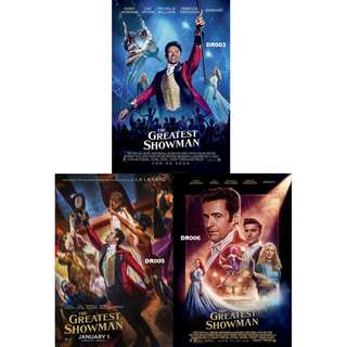 THE GREATEST SHOWMAN MOVIE POSTERS