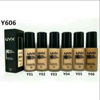Nyx liquid foundation matte