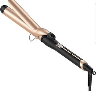 Anjou Curling Iron 1.25 inch with Tourmaline Ceramic Coating, Hair Curling Wand with Anti-scalding Insulated Tip, Hair Salon Curler Waver Maker (200 °F to 410 °F - For All Types of Hair)
