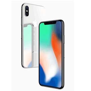 iPhoneX (256GB)顏色任擇連Belkin TCP 玻璃保護貼價值$318