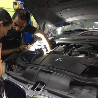 BMW Car Servicing Package