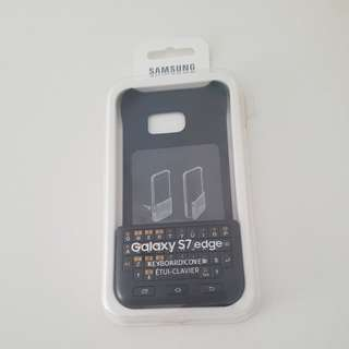 Samsung S7 edge keyboard cover