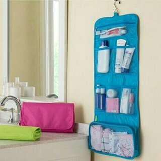 New travel toiletries bag untuk tempat kosmetik dll
