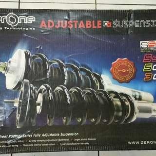 ZERONE SSR300 Absorber adjustable hi/low (Alza)