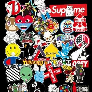 Hypebeast stickers (36)