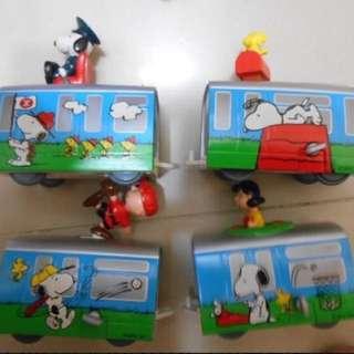 Snoopy & Friends MTR Train Set 地鐵列車