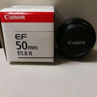 Canon 50mm F1.8 Lens