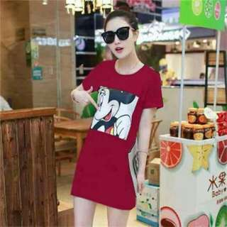 Micky Mouse Tshirt Dress