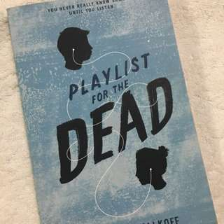 """Playlist for the Dead"" by Michelle Falkoff"