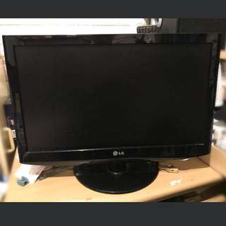 LG 22吋 電視 tv