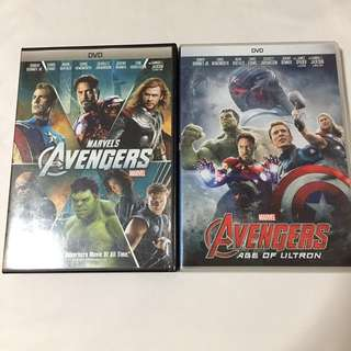 Marvel Avengers 2 Movie DVD Set