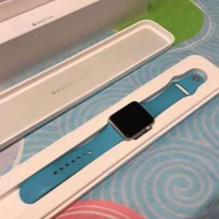 Apple Watch 42mm blue sport