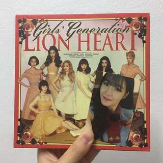 [SNSD] Lion Heart Album (Tiffany photocard)