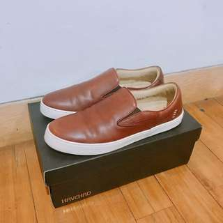 Havehad Leather Slip-On Shoes
