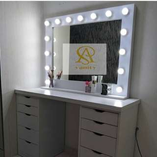 [PRE-ORDER] MIRROR WITH 15BULB