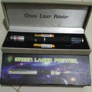 Laser Pointer green beam
