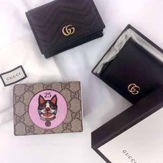 GUCCI Dog Printed Wallet