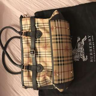 Authentic Burberry giant tote