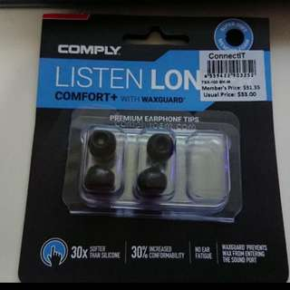 Comply Foam Tips Tsx 100 Comfort