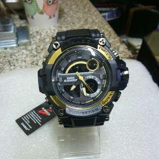🚚 G-shock雙顯示手錶