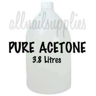 Soak-off Pure Acetone (1 Gallon)