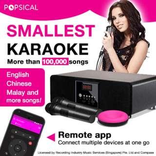 POPSICAL Karaoke Rental Services