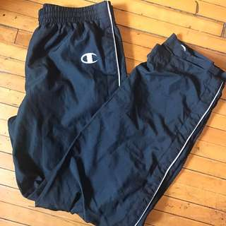 vintage champion tearaway pants