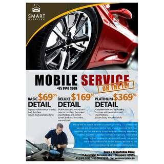 Mobile Auto Detailing Services