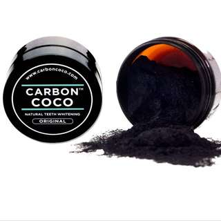 Carbon Coco Activated Charcoal Powder and Toothpaste