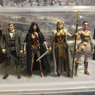 DC Multiverse Wonder Woman Ares wave no CNC