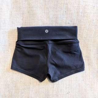 Lululemon High-Rise Shorts (Size 2)