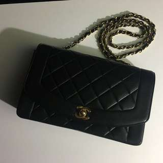 Chanel vintage Diana bag 25cm