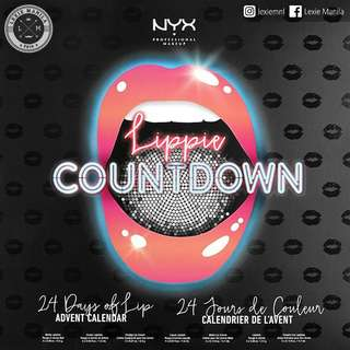 NYX Lippie Countdown: Advent Calendar Lippies