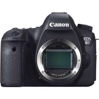 USED CANON 6D BODY ONLY (MINT CONDITION)