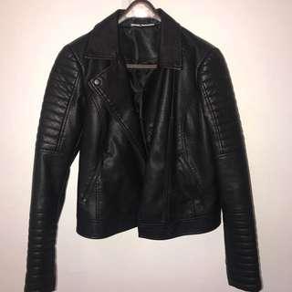 ASOS Women's Leather Jacket (Noisy May)