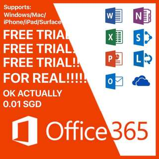 Office 365 FREE TRIAL