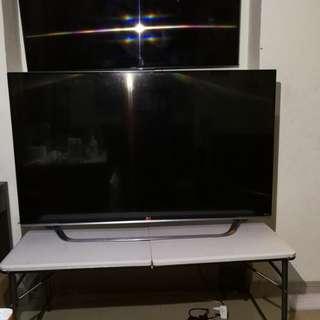 LG 55吋 無邊框 4K 3D Smart TV 55UF8500